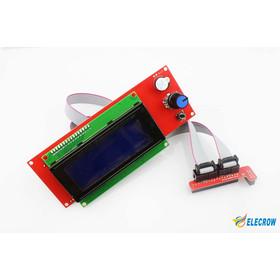 Smart LCD2004 Controller With Adapter For RepRap Ramps 1.4 3D Printer