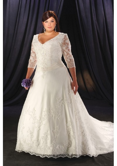 wedding dress size 24