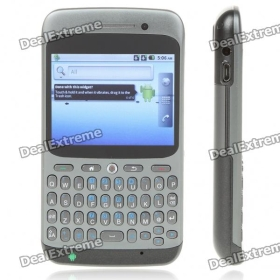 """A8 2.6""""  Screen Android 2.2 Dual SIM Dual Network Standby Quandband GSM TV Cell Phone w/ WiFi"""