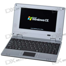 "7"" TFT LCD Windows CE 6.0 ARM WM8505 CPU WiFi UMPC Netbook (2GB Flash Disk/USB Host/SD Slot/LAN)"