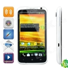 """NM8 Android 2.3 WCDMA Smartphone w/ 4.7"""" Capacitive, GPS, Wi-Fi and Dual-SIM - White"""