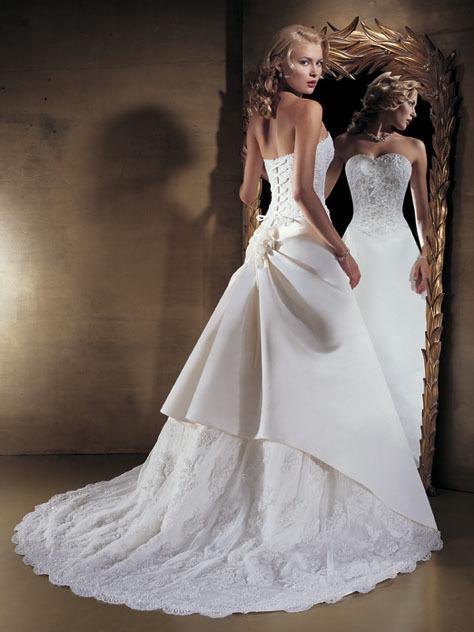 showroom china custom made wedding dress