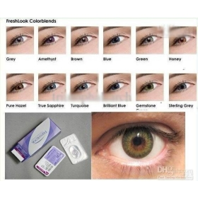 e805e8d9bc2 Freshlook Color Contact Lenses 3 Tones Crazy Lens colors contact lens mix  100 boxes 100