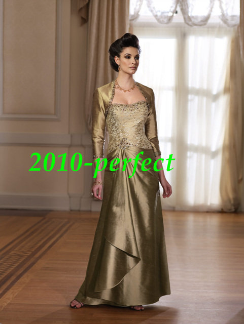 WEDRFG hot selling custom-made  Embroider chiffon taffeta voile satin beads Wedding bride gown evening party Dress all size color free