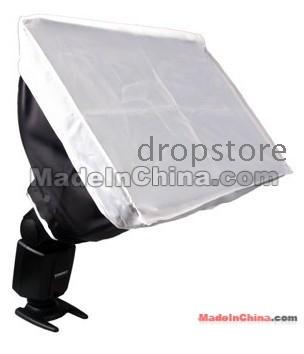 Flash Gun Adapter Kit for  430 430EX -2 Reflector Honey Comb Barndoor Softbox