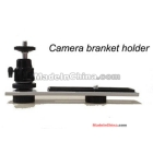 Metal Flash Bracket Flashlight Camera Holder w/ adjustable Mount Speedlite DSLR