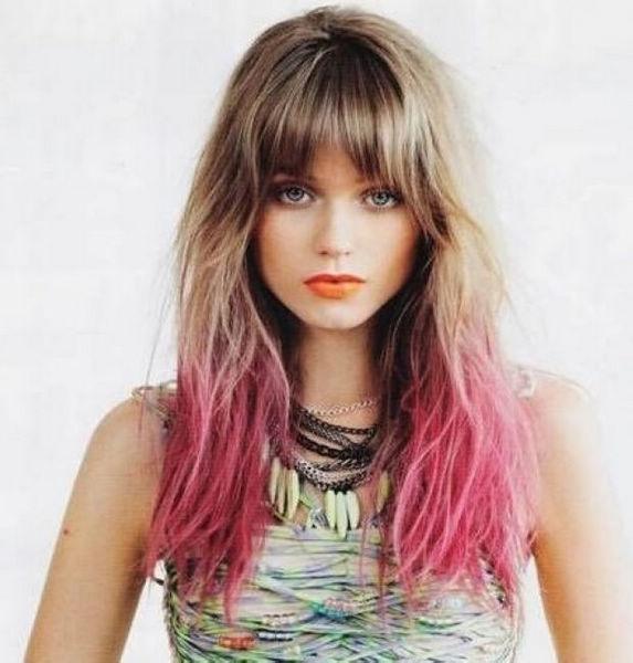 Dye Colors For Short Hair Short Chalk Hair Color