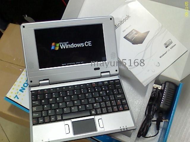 7 Inch Digital Screen Laptop 128m Mini Notebook