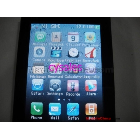 1pcs/lot  china post  mobile phone Fashion ultrathin 4th Multi-function Cell Phone Smartphones