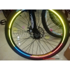 new hot bike motorcycle car bicycle hot wheels reflective stickers wheel rims reflective stickers