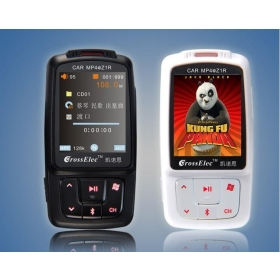 "Christmas Promotion! Z1R 1.8"" LCD car MP3 MP4 Player 4GB with FM Transmitter for CAR FREE SHIPPING"