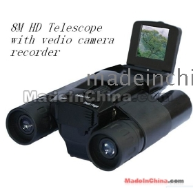 "Barska Ah11410 8x32 Binocular W/ 8mp Digital Camera NEW! Digital Zoom Upto 32x, 8.0MP, 1.5"" Screen telescope SD SLOT"