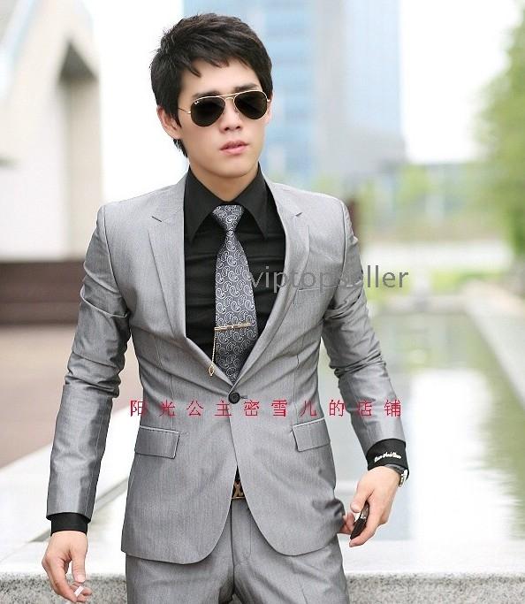 Mens Blue Suit Wedding Men 39 s Romantic Wedding Suit