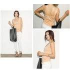 2012 sexy strap halter solid color vest six-color, 8283 #  Tanks & Camis