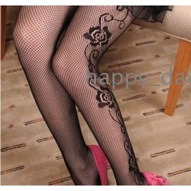 Free shipping 2012 new rose fishnet stockings leggings women's clothes