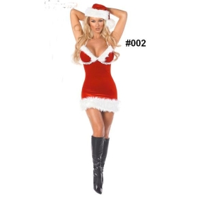 Wholesale Adult Sexy Christmas gift women's sexy Costume #002