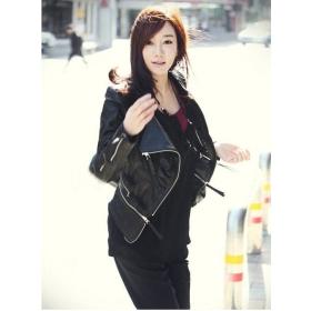 Wholesale - Jacket Women Jackets Women Jacket Jackets PU leather Jacket free size plus size #10