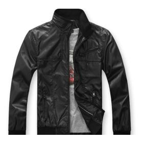 Free Shipping Men's coat / leisure stand-collar jacket / men's jacket / coat / thin section jacket