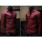 wholesale Brand new men's shirt Long Sleeve shirts / Dress shirt 100% cotton size:M L XL XXL