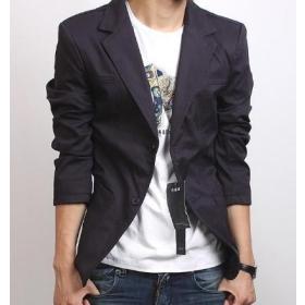 Men's Slim small male suit jacket Korean version of the Slim suit male leisure suit u1