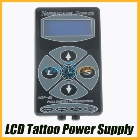 New LCD Digital Tattoo Power Supply Upright -thin Type Free Shipping