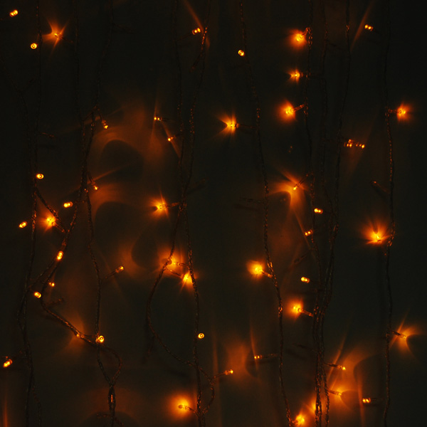 Yellow 180 led christmas decoration string lights for 180 degrees christmas decoration