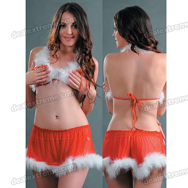 Set of 3 Tops Skirt G String Costume Dress – Wholesale Set ...