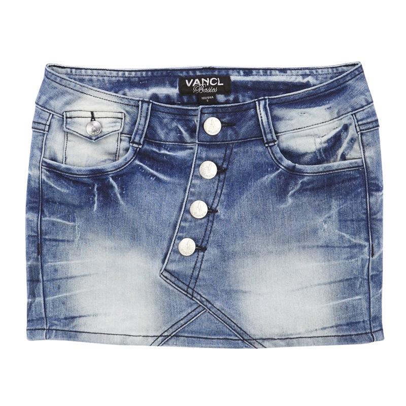 Mini Jean Skirts