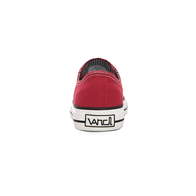 VANCL Classic VANCL Canvas Shoes Red SKU:30120