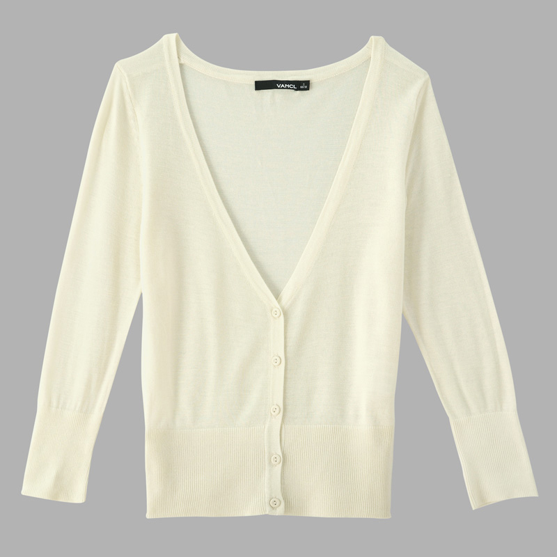 VANCL Light Hearted Spring Cardigan Offwhite SKU – Wholesale (Only ...