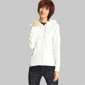 Buy VANCL FOCUS Zip Up Hoodie (Women s) White SKU:46922 from