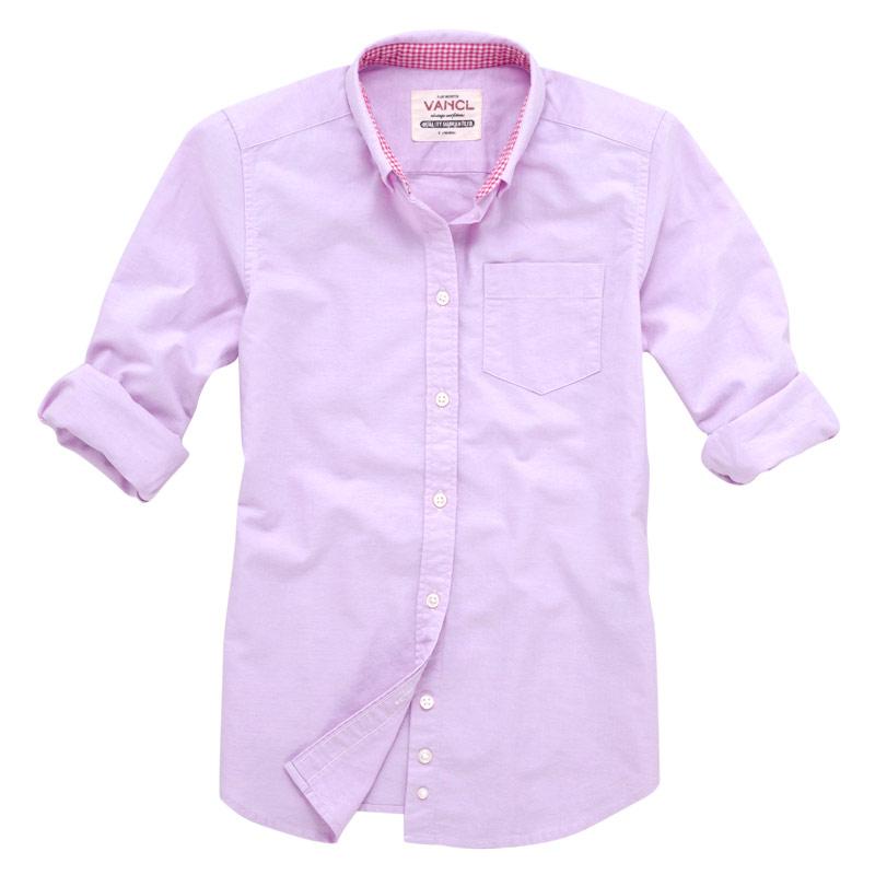 Pink Oxford Shirt Womens Shirt Women's Pink Sku