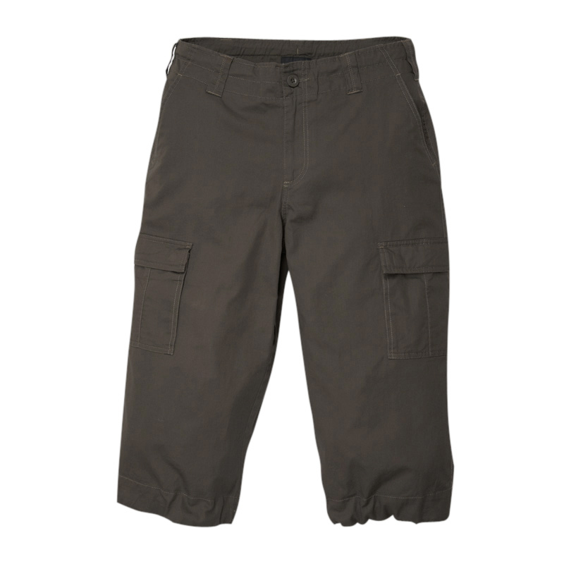 VANCL tton Camping Capris (Men's) Military Green SKU:35241