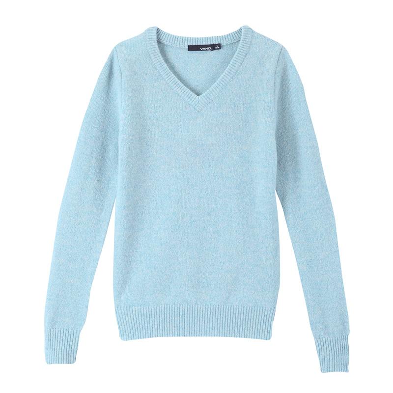 Women'S Light Blue Sweater - Cashmere Sweater England