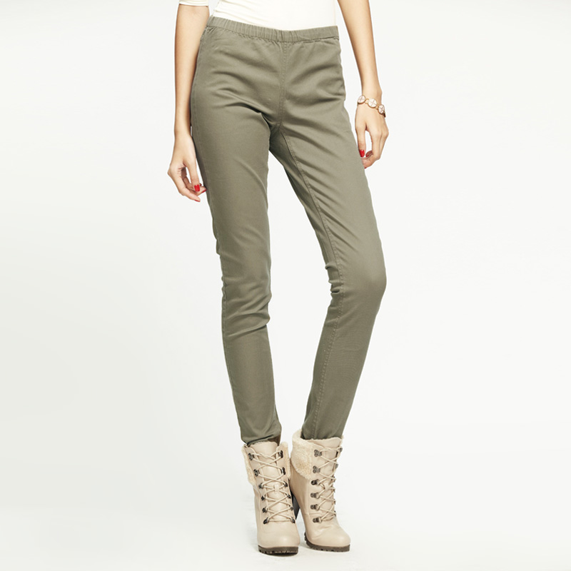 Elegant StarStyles  NEW WOMENS KHAKI Green SKINNY LADIES JEANS SIZE 614