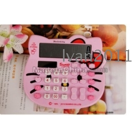 Hotsale+ 12 Digits Calculator/Calculator/Electronic calculator/Counter/Cartoon/Lovely/Free shipping