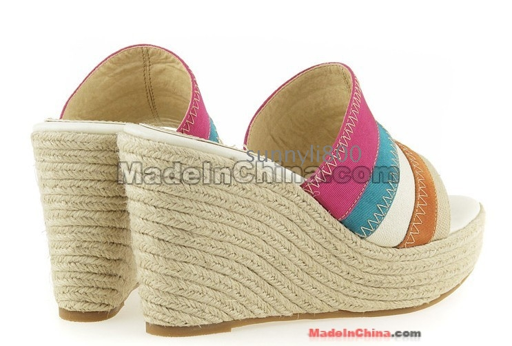 Colorful Woven Womens Shoes