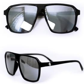 Skull  Unisex glasses sunglasses retro big frame Sunglasses mercury reflector