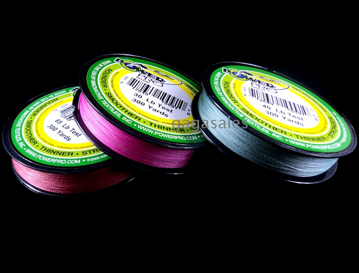 10pcs wholesales fishing tackle 30lb 150yd dyneema for Pink braided fishing line