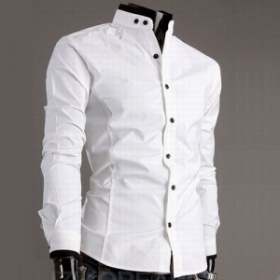 Buy Free Shipping COOL Stylish Men's Dress Shirts Slim Fit Casual ...