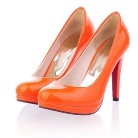 Orange Heels For Women
