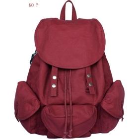 Wholesale canvas bags, school bags, Korean leisure backpack, canvas ...