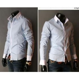 hot sale!!!free shipping brand new men's Long sleeve shirt long-sleeved T-shirt size M L XL U9