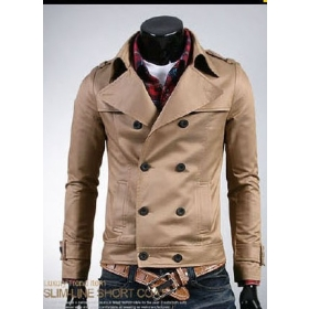 hot sale!!! free shipping brand new men′s Fashionable clothing Casual coat jacket size M L XL XXL ---8