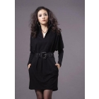 Free shipping brand new women's Autumn dress skirt knitting dress size M L XL XXL  goodagain668