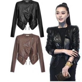 Fashionable Leather Jackets For Women