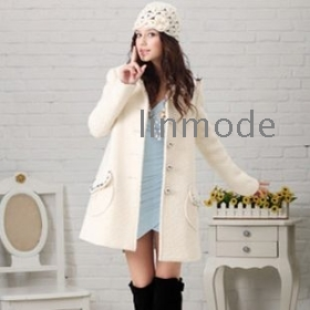 Buy ladies white coat – Modern fashion jacket photo blog