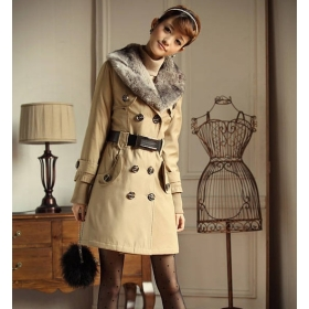 Free Shipping Fashion Women's Coat/Winter Jackets /Lady long coat/outer wear