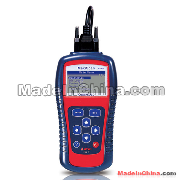 OBD II EOBD SCANNER MaxiScan MS409 fault code reader scanner lowest ...
