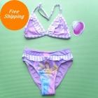 Free shipping wholesale kids Girls Child Swimwear Tankini Swimsuit Bikini Bather 2-6Y 8pcs/lot